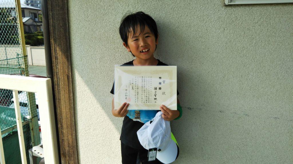 準優勝:緒方 智映選手