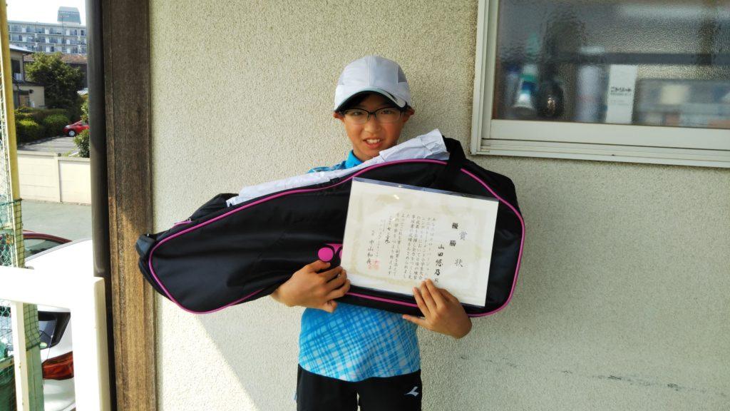 優勝:山田 悠乃選手