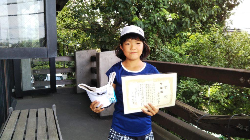 準優勝:熊倉 怜子選手