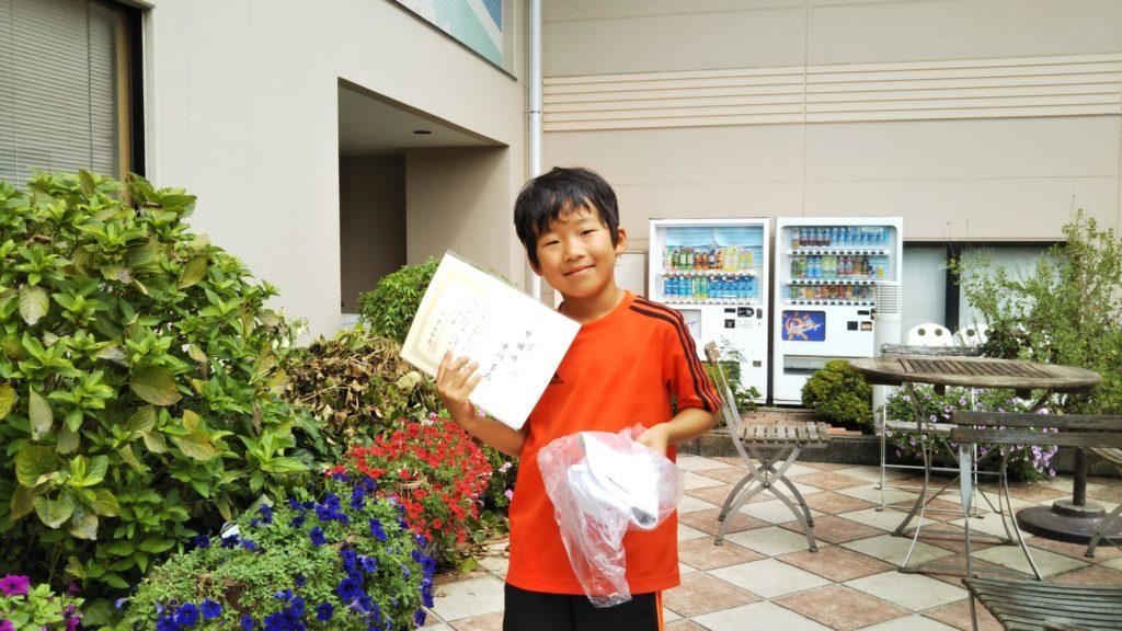 準優勝:中川 蒼太選手
