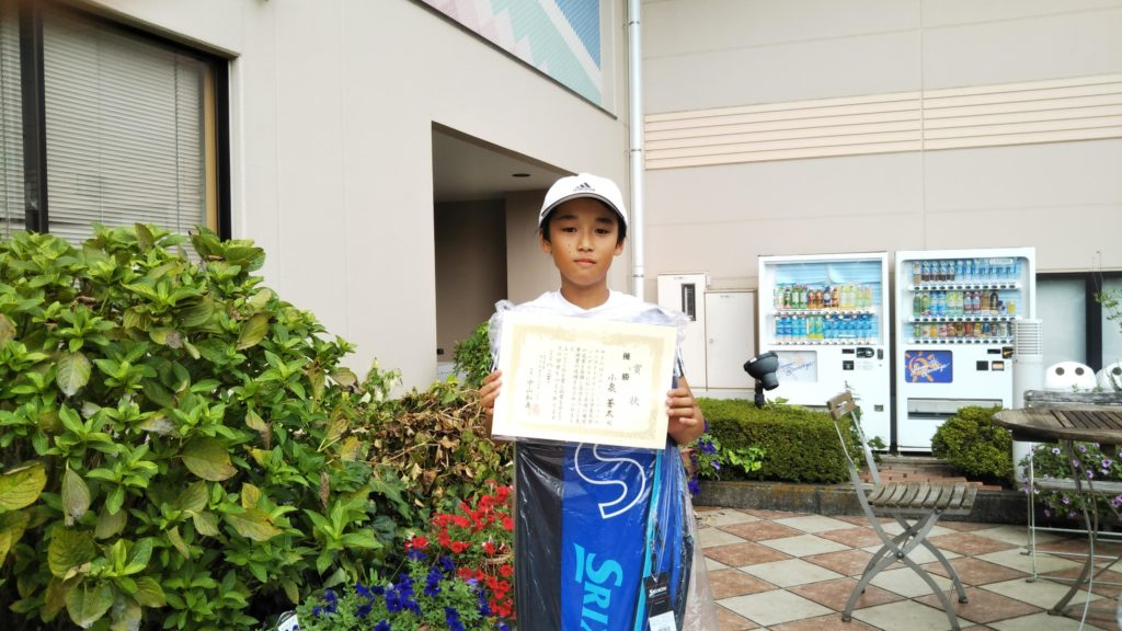 優勝:小泉 蒼太選手