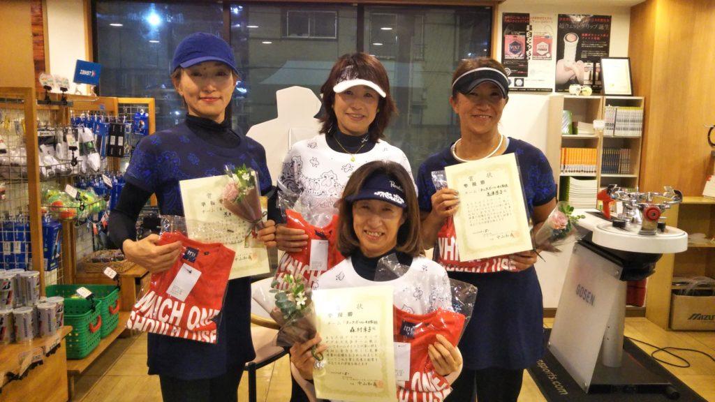 準優勝:テニスボール4姉妹 チーム
