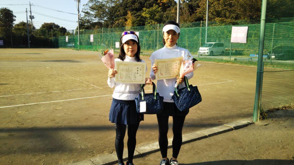 準優勝:鈴木・山村ペア