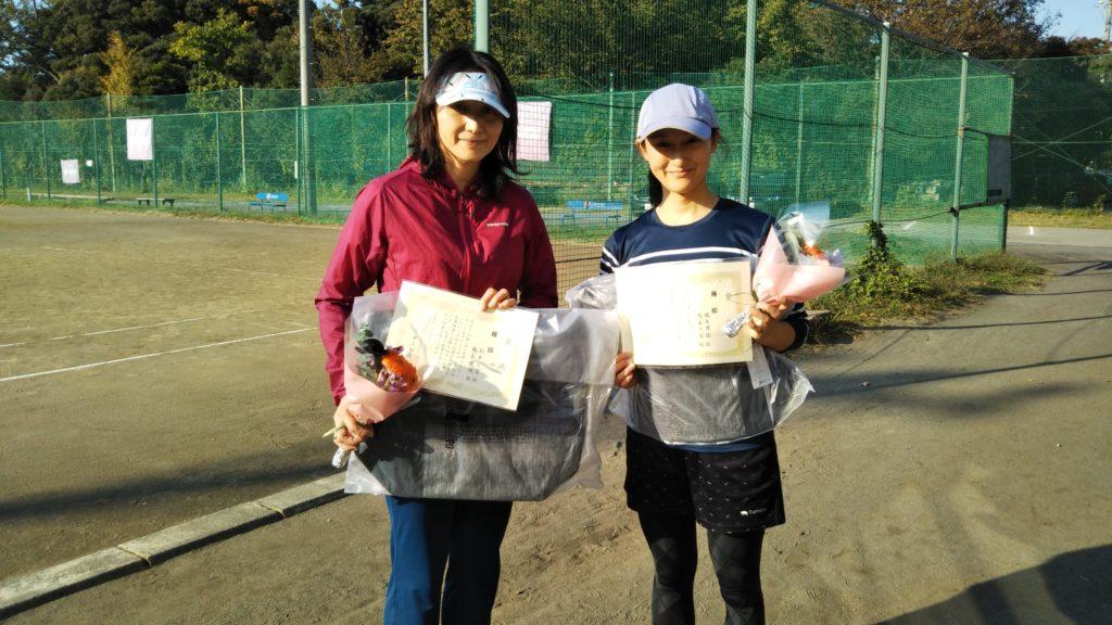 優勝:松本・橋本ペア