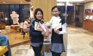 第1486回 緑ヶ丘テニスガーデン 女子ダブルス優勝:宇田川・元岡ペア