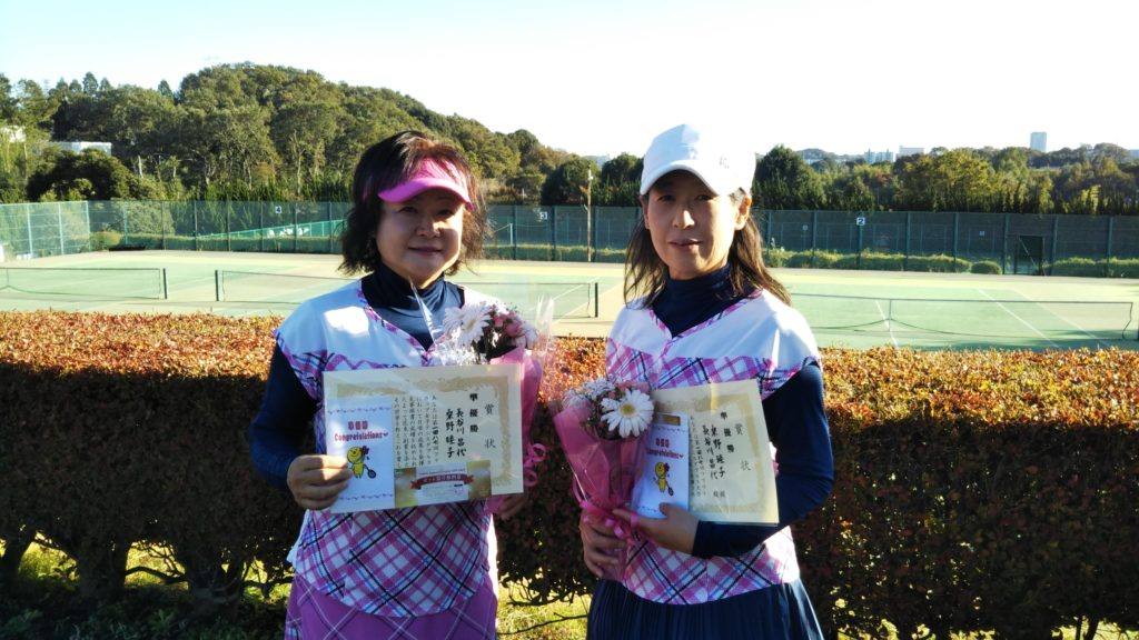 準優勝:長谷川・桑野ペア