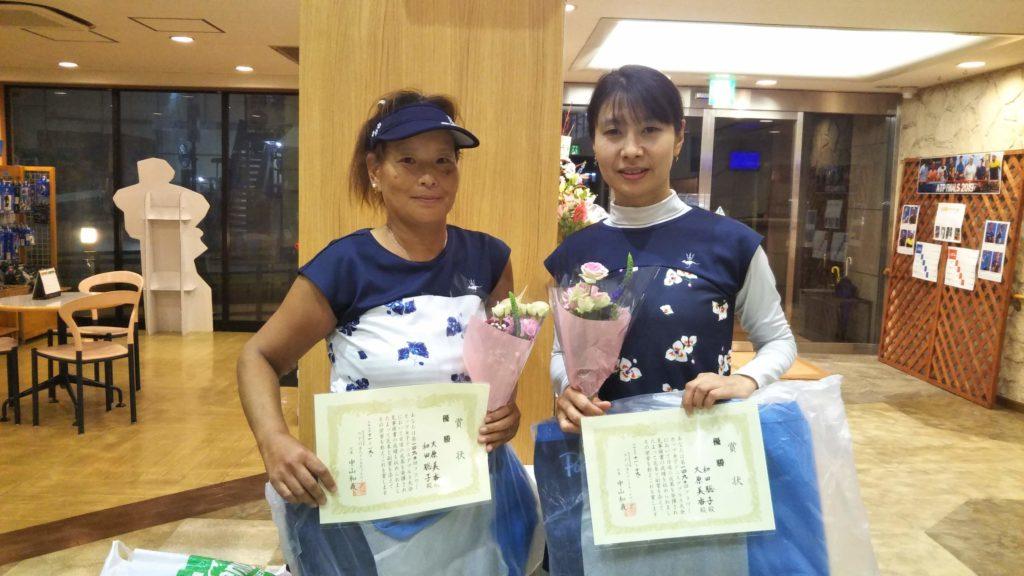 優勝:大原・和田ペア