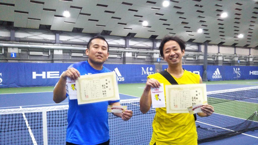 準優勝:高見・菊川ペア