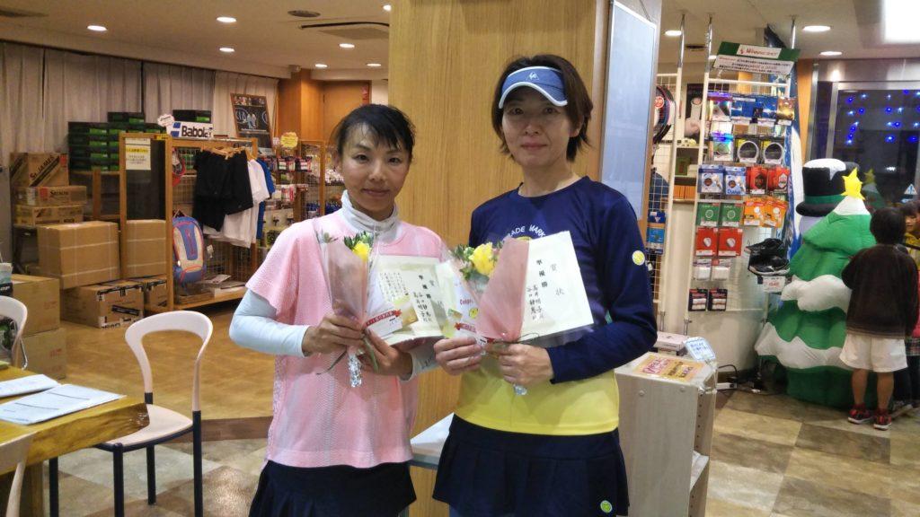 準優勝:谷口・高井ペア