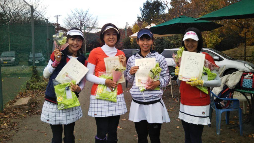 準優勝:若林・五味・神田・沖山チーム