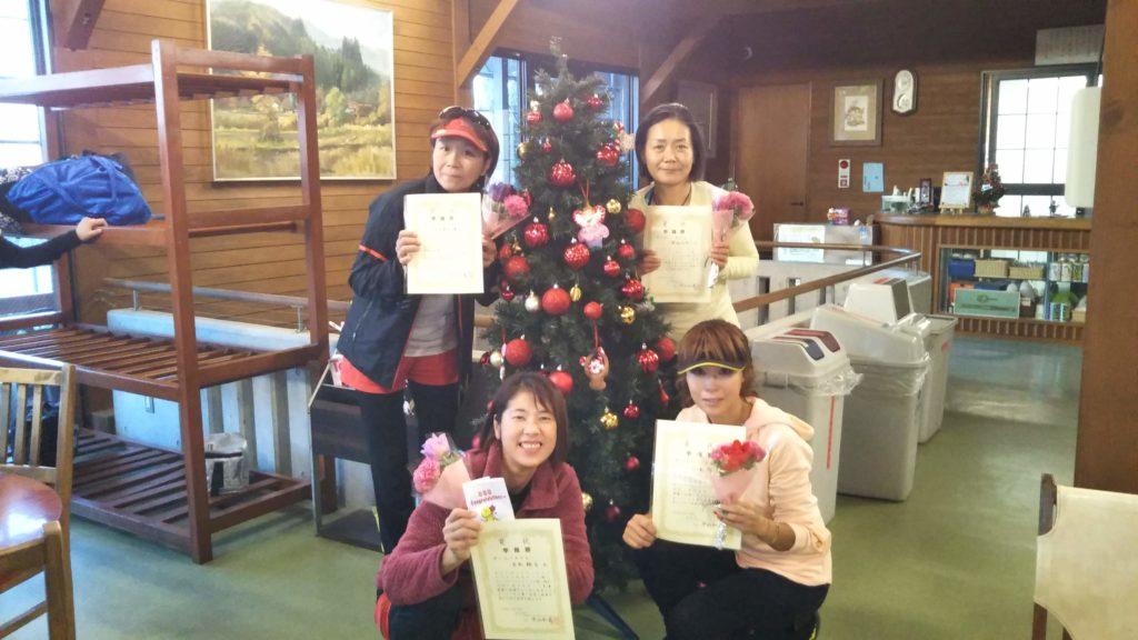 準優勝:片木・八木・大土井・渡辺チーム