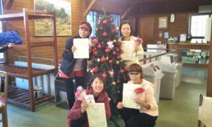 第1502回 富士見台テニスクラブ 女子チーム戦準優勝:片木・八木・大土井・渡辺チーム