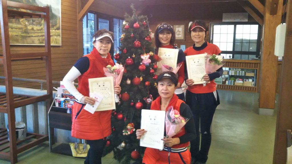 優勝:河畑・原田・松本・髙橋チーム