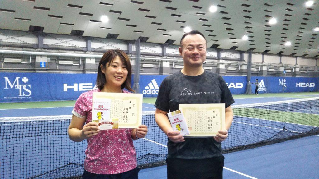 優勝:丹野・戸田ペア