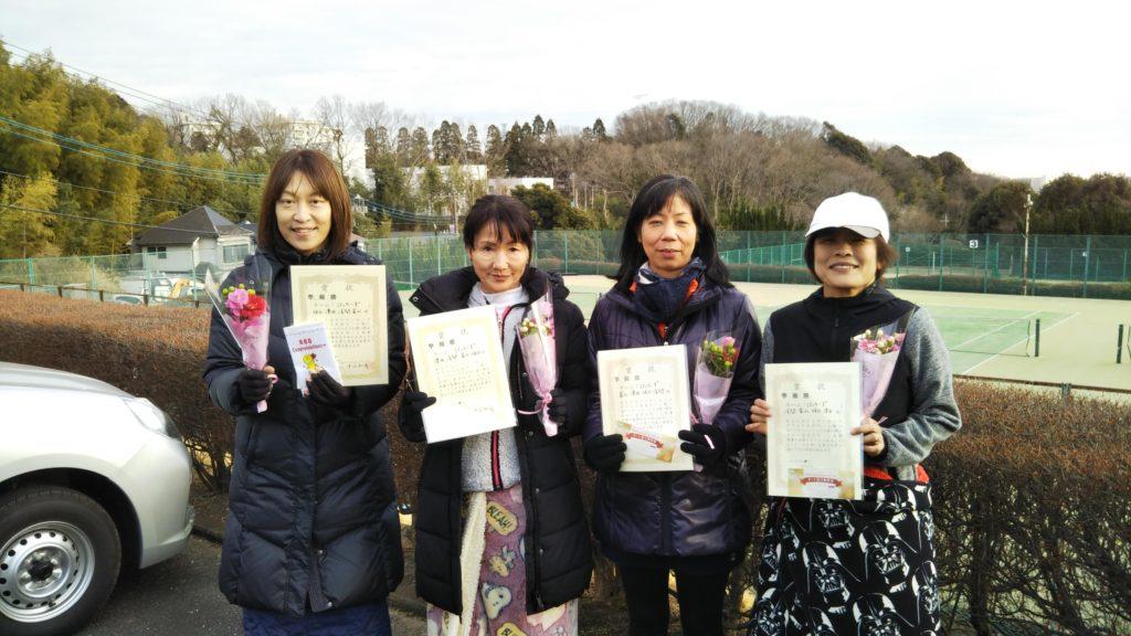 準優勝:坂口・澤田・冨山・浅間チーム
