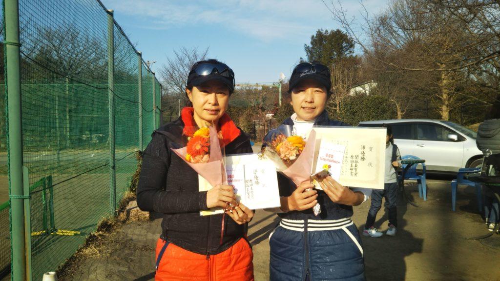 準優勝:原田・関谷ペア