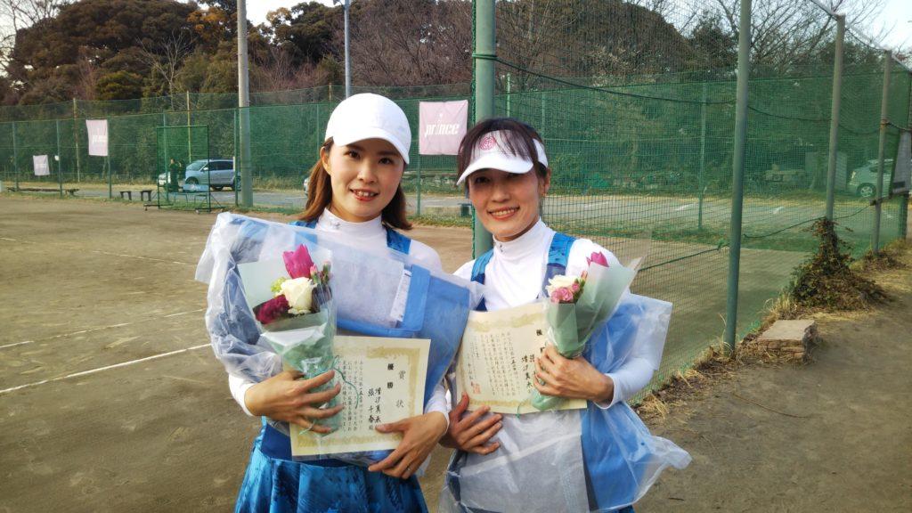 優勝:増汐・張ペア