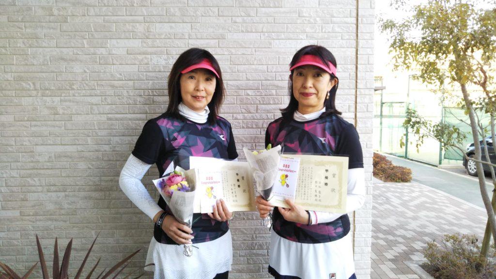 準優勝:関口・石坂ペア