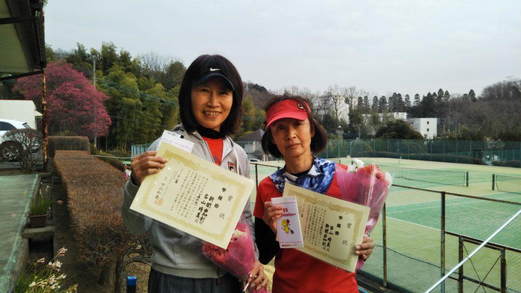 準優勝:新関・古山ペア