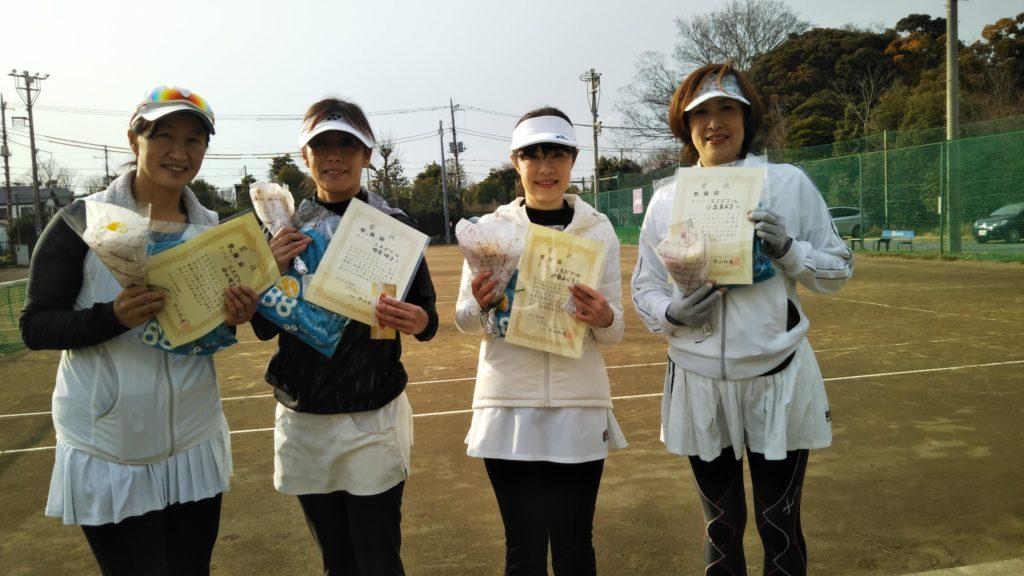 準優勝:谷口・明楽・伊藤・小泉チーム