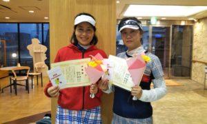 第1526回 緑ヶ丘テニスガーデン 女子ダブルス準優勝:本田・新井ペア