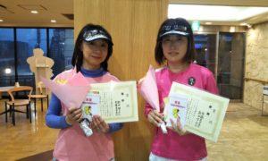 第1526回 緑ヶ丘テニスガーデン 女子ダブルス優勝:歌田・斉藤ペア