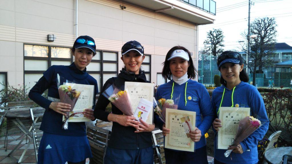 優勝:堀・高橋・牛島・横江チーム