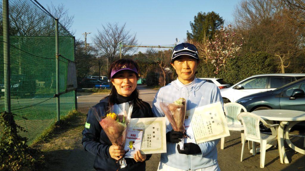 準優勝:古田・高橋ペア