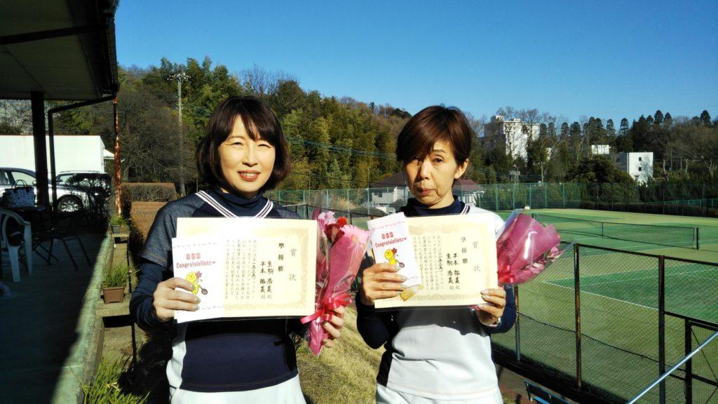準優勝:生駒・平本ペア