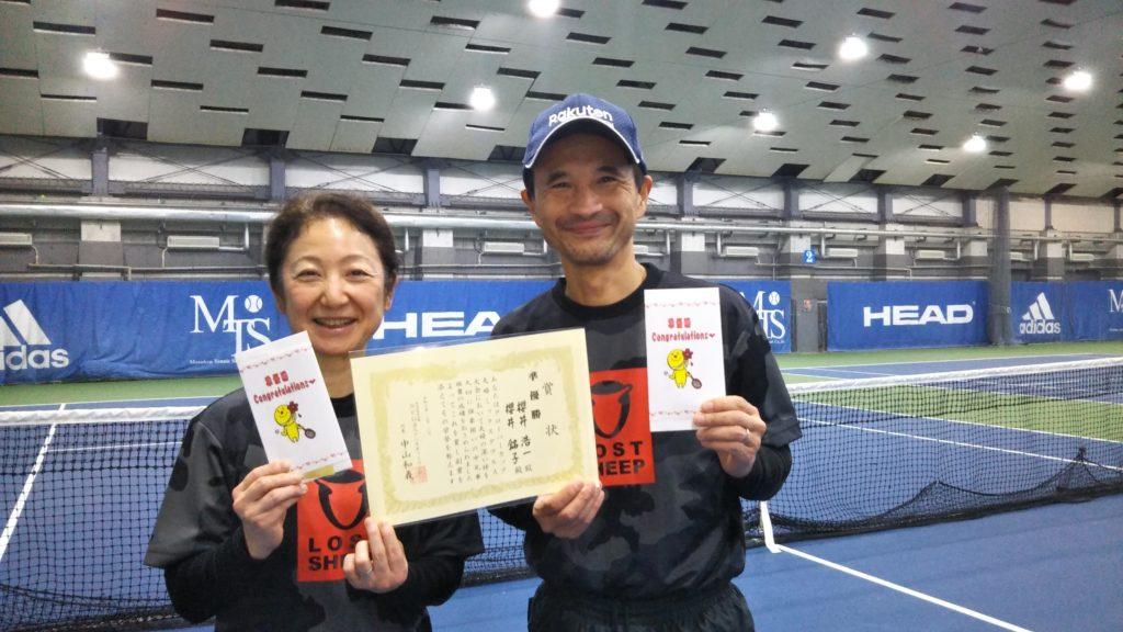 準優勝:櫻井夫妻