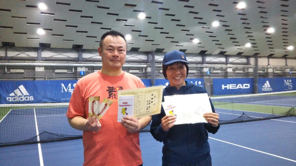 準優勝:戸田・古山ペア