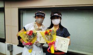 第1559回 緑ヶ丘テニスガーデン 女子ダブルス優勝:高橋・古田ペア