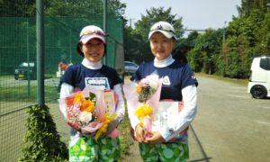 第1560回 桜田倶楽部 女子ダブルス準優勝:遠藤・森下ペア