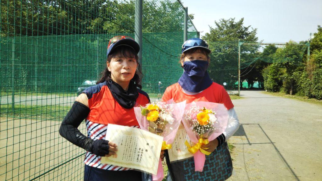 優勝:岸田・澤田ペア
