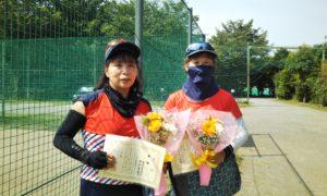 第1560回 桜田倶楽部 女子ダブルス優勝:岸田・澤田ペア