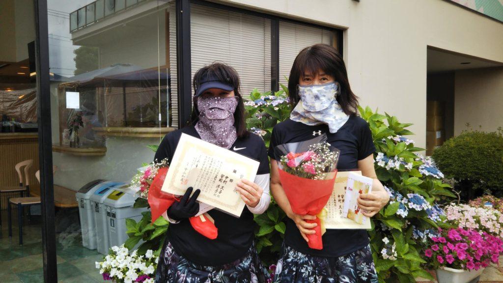 優勝:中村・安岡ペア