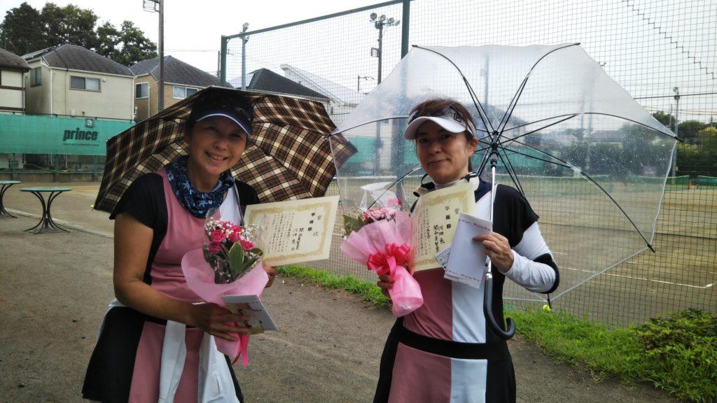 準優勝:関谷・河畑ペア