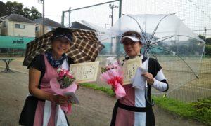 第1573回 桜田倶楽部 女子ダブルス準優勝:関谷・河畑ペア
