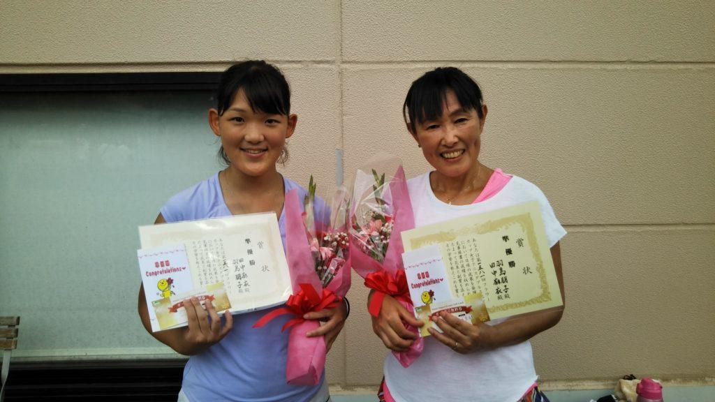 準優勝:田中・羽島ペア