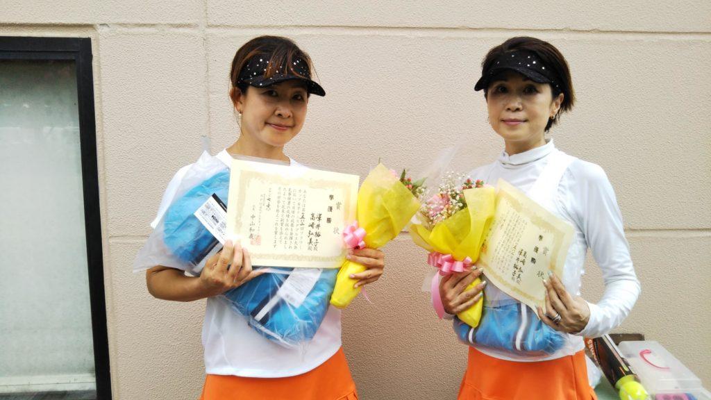 準優勝:澤井・高崎ペア