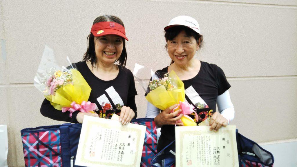 優勝:成清・大熊ペア