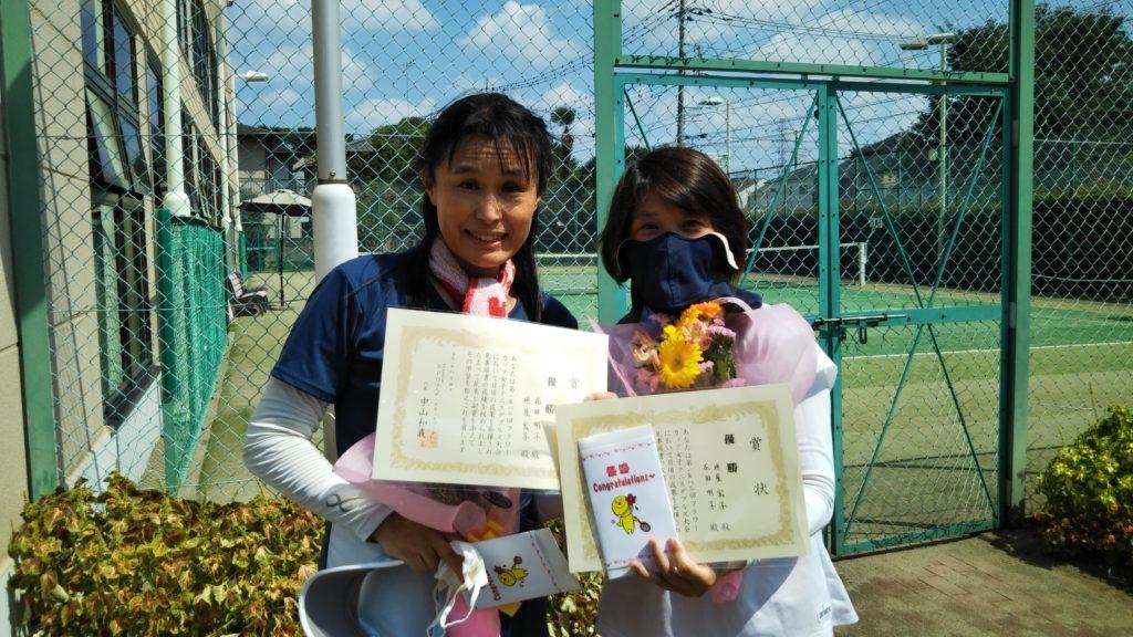 優勝:花田・垣屋ペア