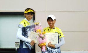 第1584回 緑ヶ丘テニスガーデン 女子ダブルス優勝:大谷・久保田ペア
