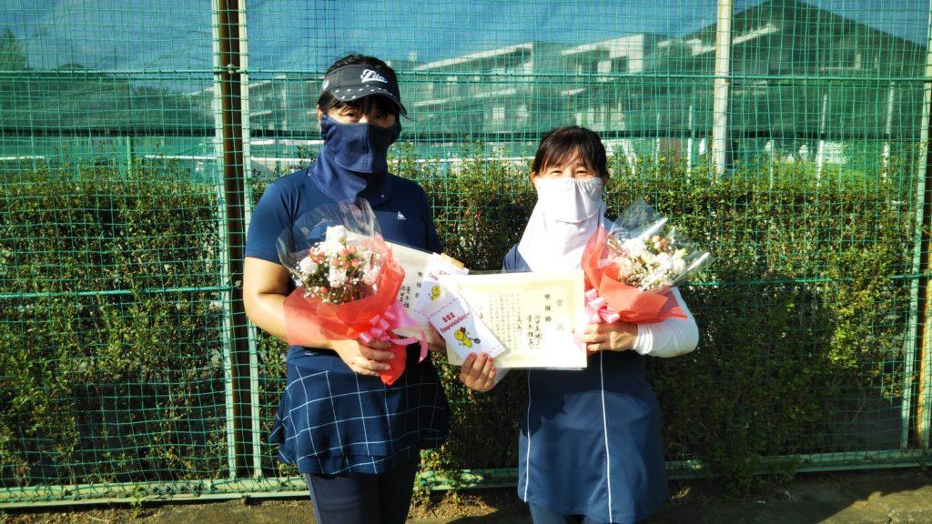 準優勝:青木・池田ペア