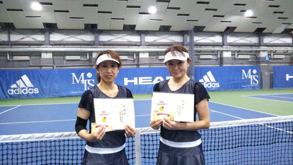 準優勝:中田・花田ペア