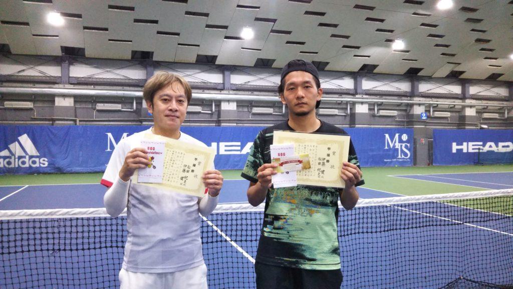 準優勝:松田・伊藤ペア