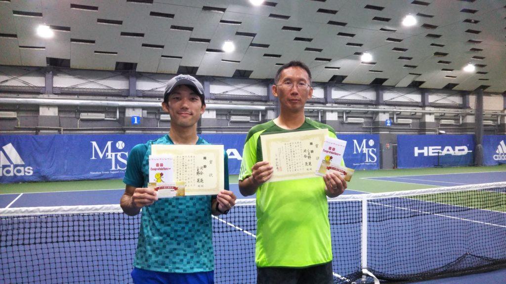 優勝:河合・小見野ペア