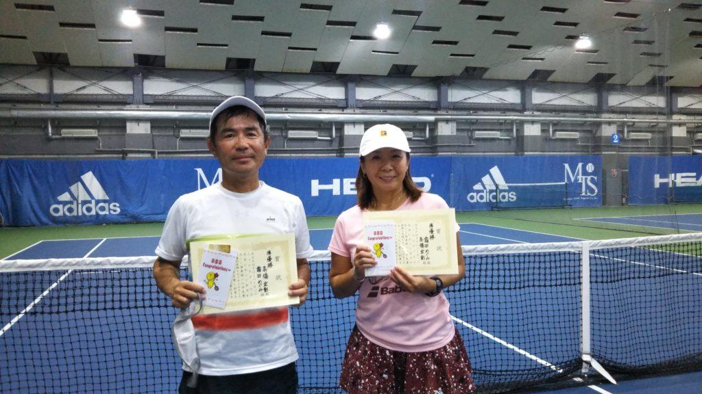 準優勝:高橋・霜田ペア