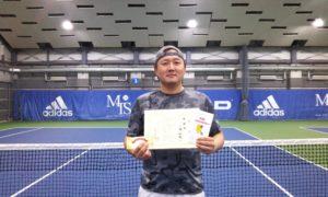 第254回 MTSテニスアリーナ三鷹 ナイター男子シングルス準優勝:小幡 和樹選手