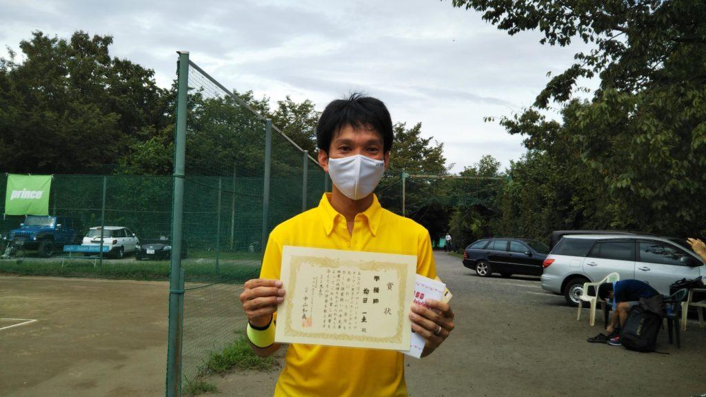 準優勝:柳田 一圭選手